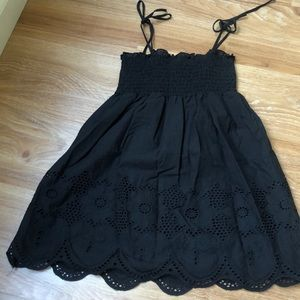 Black Summer cute babydoll top